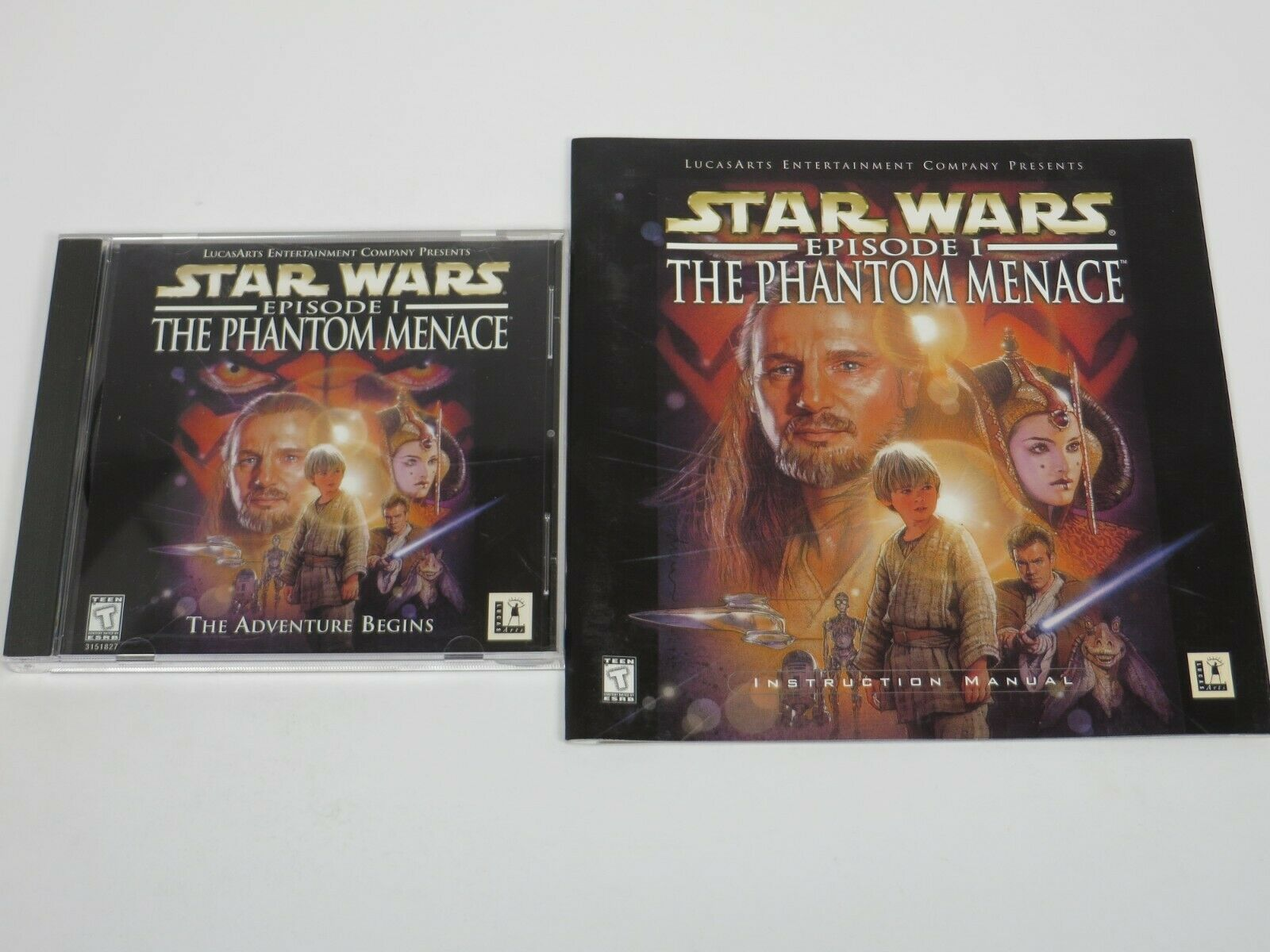 Computer Games - Star Wars Episode 1 The Phantom Menace (PC, 1999) PC Computer Game LucasArts