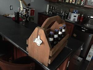 Beer Caddy with opener