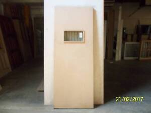 SOLID CORE ENTRY DOOR WITH DOUBLE GLAZED VIEWING PANEL Bankstown Bankstown Area Preview