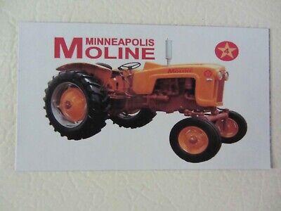 Minneapolis Moline 4 Star Fridgetool Box Magnet