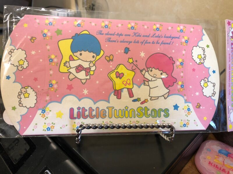 SANRIO LITTLE TWIN STARS  NEW SEALED GIFT BOX FOR WRAPPING GIFTS 1999
