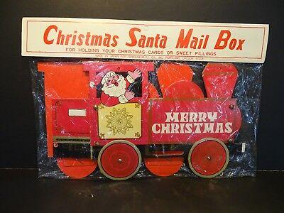 VTG CARDBOARD CHRISTMAS SANTA MAIL BOX](Cardboard Mailbox)