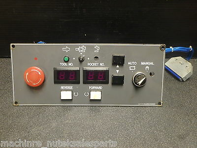Mazak Ajv-18n Control Panel Disply Tool Numbertool Pocket24226232680102369