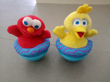Sesame Street rock and play