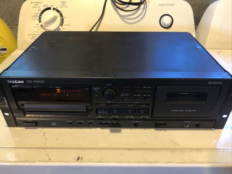 Tascam CD-A500 CD/Cassette Player