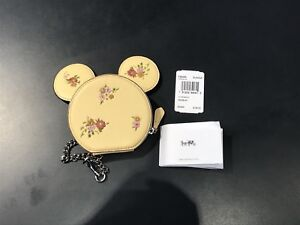 Limited Edition Coach x Minnie Mouse Coin Case