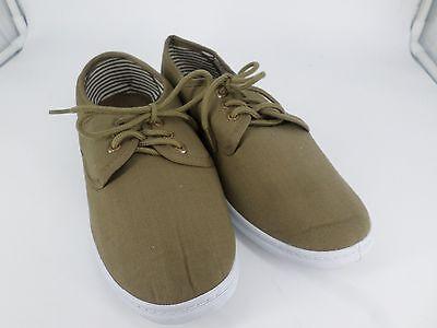 Chums Mens Lace Canvas Shoe Brown UK 8 EU 42 LN088 YY 10
