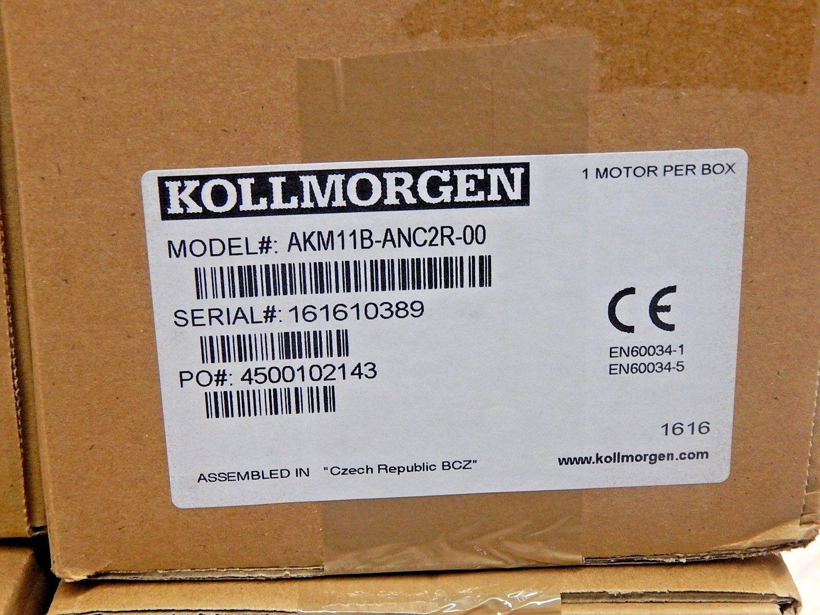 Kollmorgen Servomotor AMK11B-ANC2R-00 New