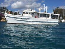 Boat Live aboard Coastal cruiser converted Trawler Laurieton Port Macquarie City Preview