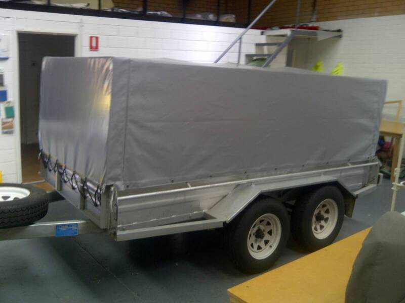 CAGE Trailer Canvas And PVC Cover Tarp Canopy Perth