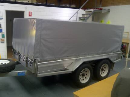 CAGE Trailer Canvas and PVC Cover Tarp Canopy Perth Wangara Wanneroo Area Preview
