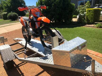 KTM 300 EXC 2010 and Trailer. All ACT Registered