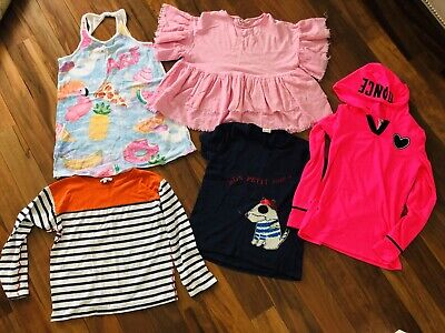 Girls Lot Of Girls Clothes Abercrombie Zara Justice Tops T-shirts Hoodie Sz 10