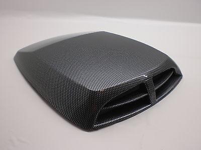Universal Lufthutze Lufteinlass für Motorhaube oder Dach CARBON