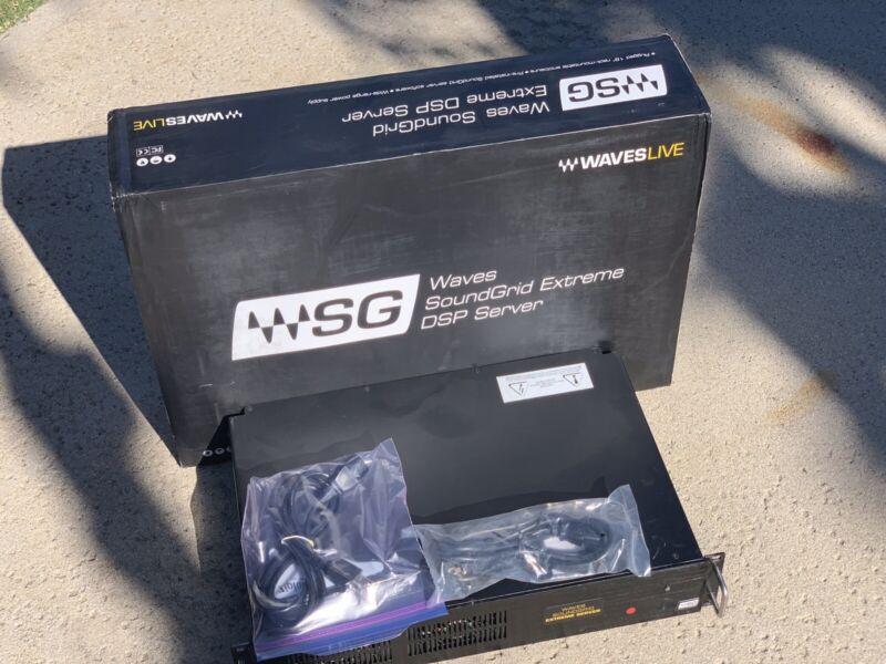 Waves WSG Soundgrid Extreme Server