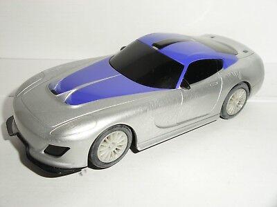 Scalextric - Dodge Viper Silver/Purple - Exc. Cdn