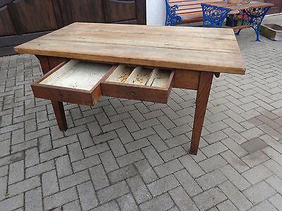 alt Küchentisch Tisch Kulissentisch Jugendstil Gründerzeit Holztisch 174