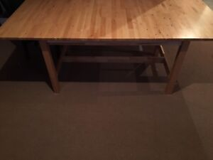 Solid Birch Dining Table - Just in time for the Holidays!!!