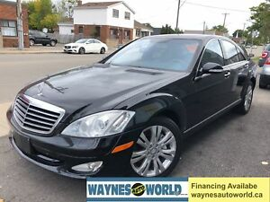 2009 Mercedes-Benz S-Class 4.7L V8 **LOW KM*NAVI & LOADED**