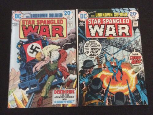 STAR SPANGLED WAR STORIES #177, 178