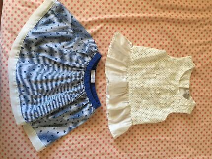 Size 1-2 girl clothes