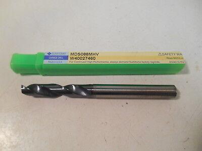 Nib Sumitomo Mds088mhv 8.8mm Dia Solid Carbide Drill