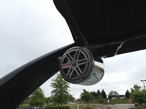 Polished-Wakeboard-Boat-Tower-Speaker-Malibu-Centurion-Chaparral-7-7-JL-Audio