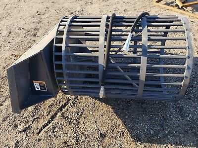 Rock Screen Attachment For Skid Steer- Brand New- Free Shipping