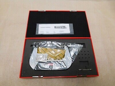 Spi Screw Thread Micrometer 3-4 Range 0.001 Graduation 13-517-8
