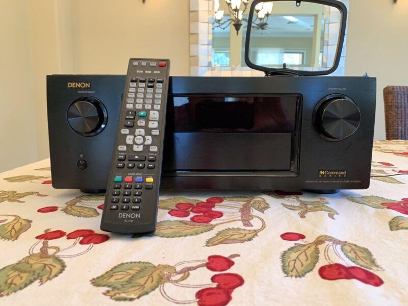 Denon AVR-X4100W Surround Sound Audio/ Video Receiver