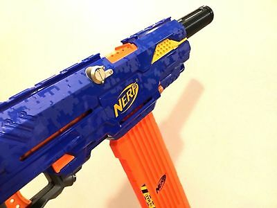 Tactical Silencer Barrel Twist On Ext Attachment For Nerf Stryfe Modulus More