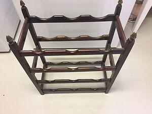 Mahogany Wine Rack