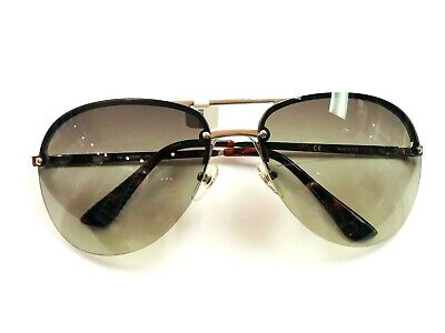 Michael Kors 'Kai' M2068S 045 Green Gradient Lens Aviator Frame Sunglasses 62mm