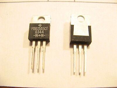 6  SCHOTTKY Leistungs-Dioden 2 x 30A/45V (mit Datenblatt!)
