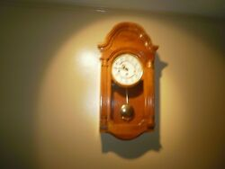 Howard Miller Daniel Chiming, Key-wound Wall Clock CHM 1630