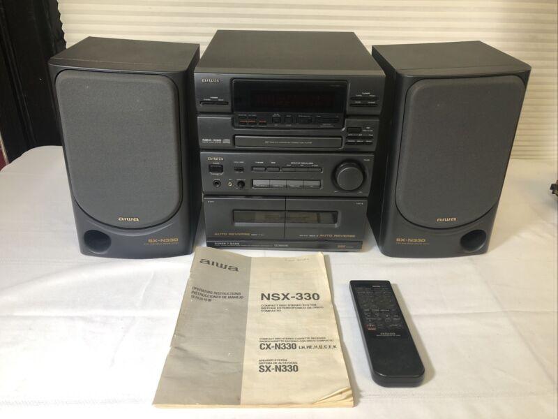 Aiwa NSX-330 Stereo System