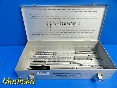 Howmedica Osteonics Assorted Orthopedic Instrument Set W 6060-9-120 Case 18540