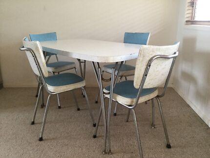 Retro Dining Table Chairs For Sale
