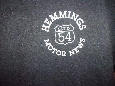 Hemmings Motor News est 54 graphic M t shirt