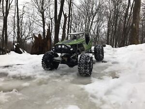Upgraded Axial Wraith- RTR with lipo!