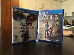 PS4 Games-Brothers and Killzone