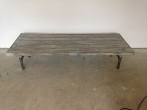 Antique Finish Coffee Table