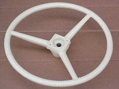 White Cream Steering Wheel For Allis Chalmers A2 Combine C D10 D12 D14 D15 D17