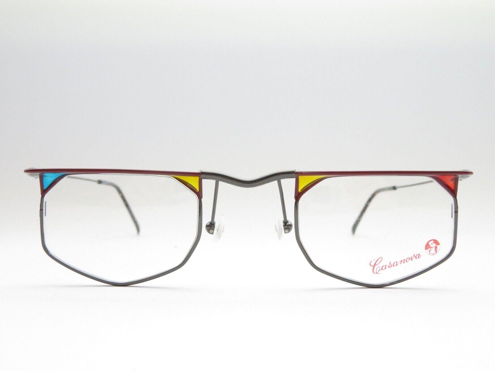CASANOVA LC 47 Ausgefallene Brille 44□26 140 Unisex Brillenfassung Accessoire