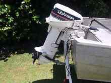 Johnson 15hp Outboard Boambee East Coffs Harbour City Preview