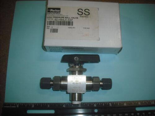 Parker HB Series Ball Valves Stainless Steel Ball Valve 6Z-HB4LK-SSP