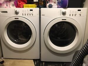 Kenmore Front Load Washer & Dryer