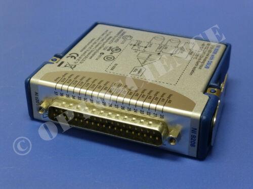 National Instruments NI 9208 cDAQ Analog Current Input Module, 24-Bit