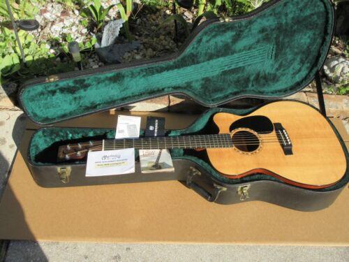 Martin JC-16GTE Gloss Top Jumbo Acoustic Guitar W Original Case Fishman Elec