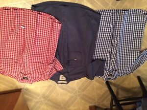 FIVE(5) men's XL short sleeve shirts